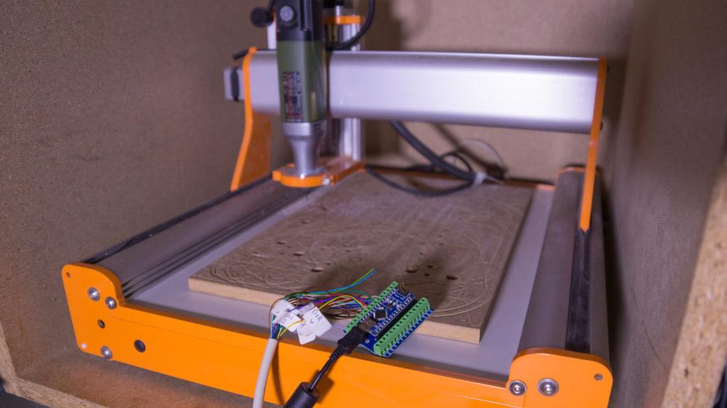 Stepcraft mit GRBL auf Arduino Nano